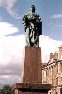Statue of Thomas Chalmers, George Street, Edinburgh