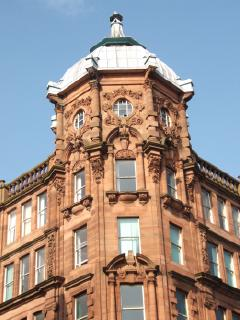 Classical Style Building, Corner of Trongate - Albion Street, Glasgow