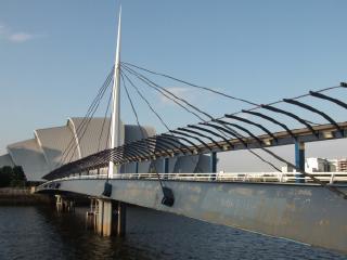 Bell's Bridge and the Armadillo, Glasgow