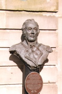 Statue of John Hunter, Tower Place, Leith