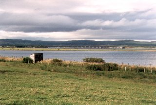 Bridge crossing Dornoch Firth