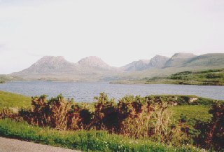 View to Coigach from Aird of Coigach