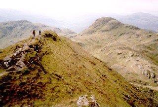 View Along Tarmachan Ridge