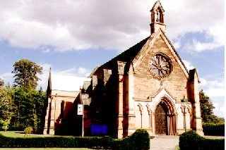 St. Mary's Episcopal Church, Dalkeith