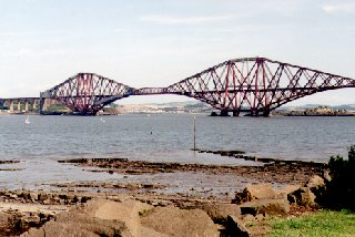 Forth Bridge and the Firth of Forth