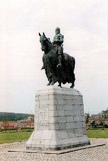 Statue of Robert the Bruce at Battle Site, Bannockburn