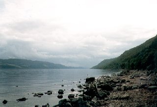 Loch Ness, looking south