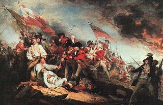 The Battle of Bunker Hill by John Trumbull