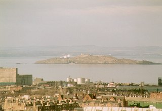 Leith Docks & Inchkeith Island