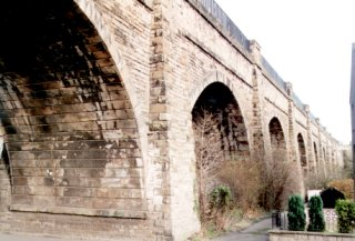 Slateford Aqueduct, Edinburgh
