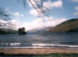 Loch Tay, looking West towards Ben Lawers