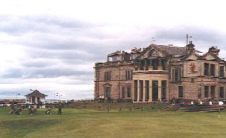 The Club House of the Royal and Ancient Golf Club, St Andrews