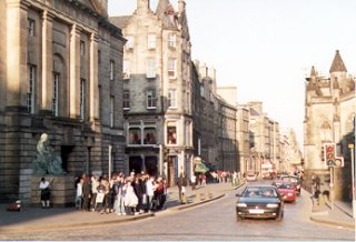 The High Street, Edinburgh