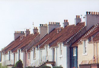 Restored Miner's Cottages, Methil