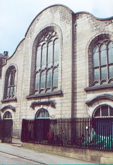 Lady Yester's Kirk, Infirmary Street.