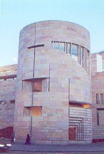 Museum of Scotland, Twilight.