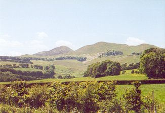 The Pentland Hills from the Southeast