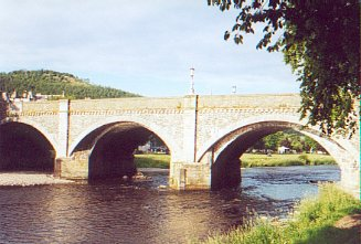 Tweed Bridge at Peebles