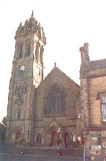 Old Parish Church of Peebles