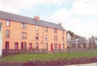 Old Mill Workers Houses, Walkerburn