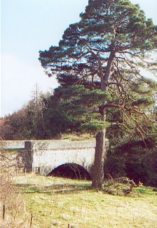 Bridge over River Yarrow at the entrance to Bowhill