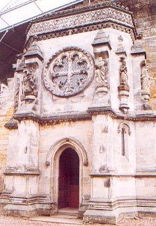 Detail of Rosslyn Chapel, Roslin
