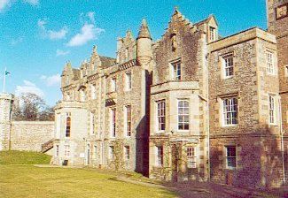 Abbotsford House as seen from rear