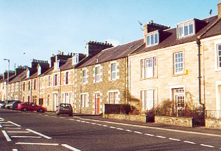 Row of Houses at Earlston