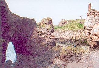 Ruins of Dunbar Castle