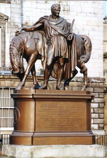 Statue of the 4th Earl of Hopetoun, St Andrew's Square