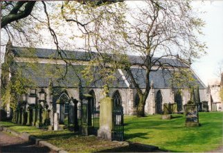 Greyfriars Kirk, showing the original two parts