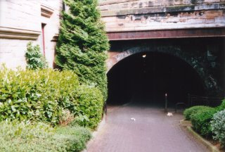 Entrance to old Innocent Railway tunnel at St. Leonards
