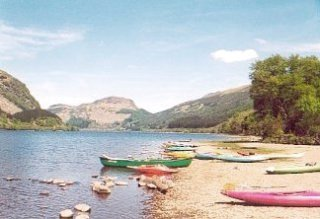 Loch Lubnaig, looking North, along Strathyre