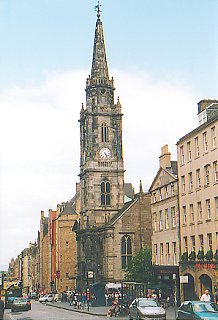 The Tron Kirk on the Royal Mile