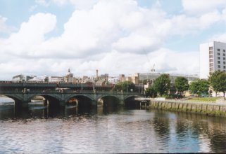 The Jamaica Street Bridge and River Clyde, Glasgow
