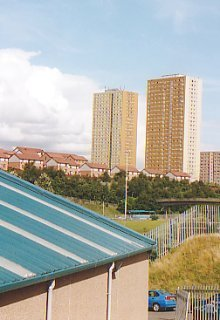 Towards Sighthill, Glasgow