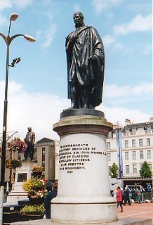 Statue of General Sir John Moore, George Square, Glasgow