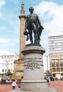 Statue of Field Marshall Lord Clyde, George Square, Glasgow