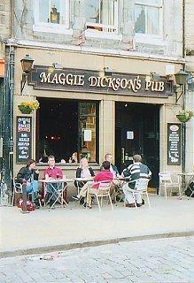 Maggie Dickson's Pub, Grassmarket, Edinburgh
