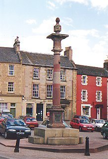 Mercat Cross and Market Square, Duns