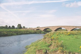 River Isla and Keithwick Bridge