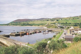 View over Helmsdale
