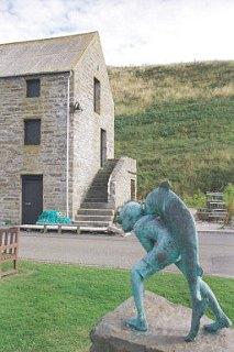 Neil Gunn Memorial, Dunbeath Harbour