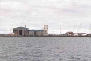Oil Industry Fabrication Yard, Nigg Bay