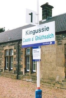 Kingussie Railway Station
