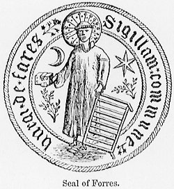 Town Seal of the Burgh of Forres