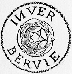 Town Seal of the Burgh of Inverbervie