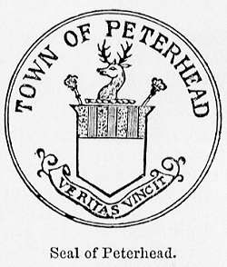 Town Seal of the Burgh of Peterhead