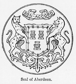 Town Seal of the Royal Burgh of Aberdeen