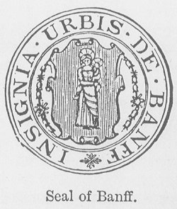 Town Seal of the Royal Burgh of Banff